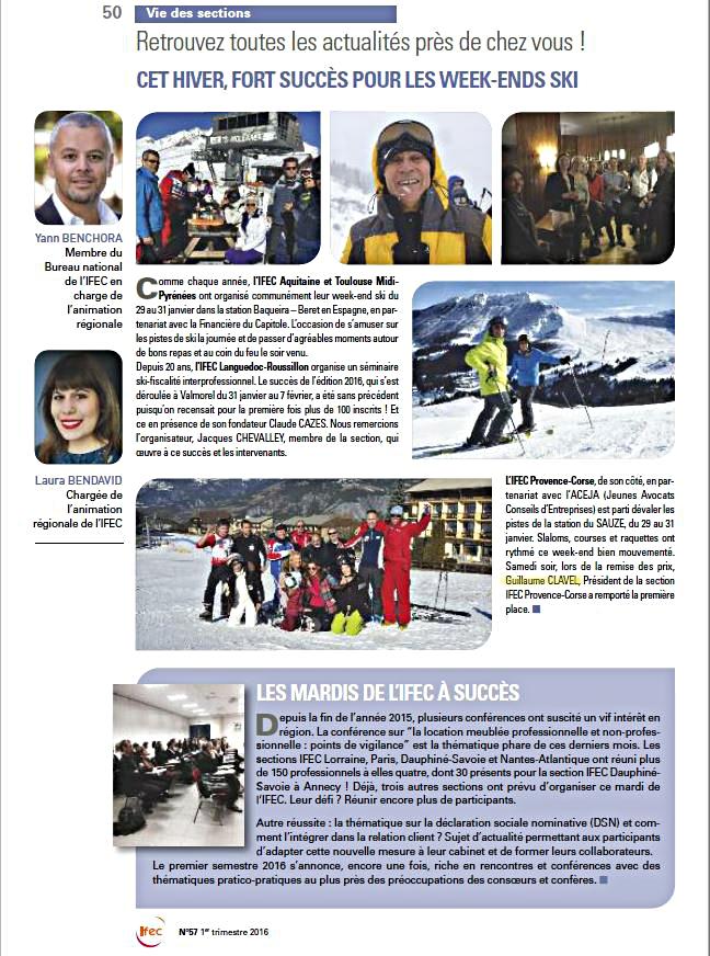 comptable ski ifec